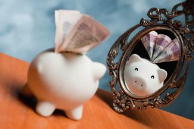 О росте благосостояния: про зеркала
