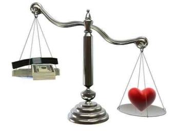 Деньги или любовь?!