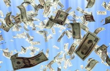 Привлечение денег посредством стучания тапками