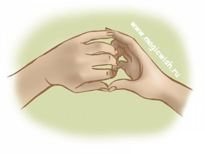 мудра для знакомства и удачного свидания