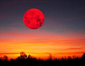 4 апреля 2015 лунное затмение