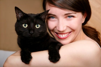 Черная кошка - на счастье!